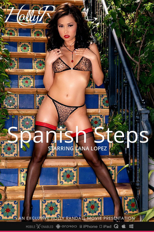 Lana Lopez - `Spanish Steps` - by Holly Randall for HOLLYRANDALL