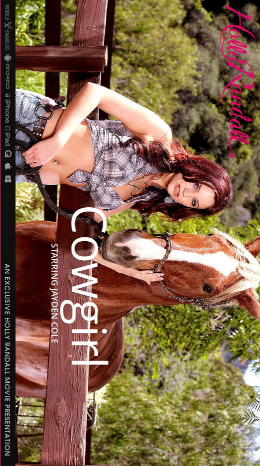 Jayden Cole - `Cowgirl` - by Holly Randall for HOLLYRANDALL