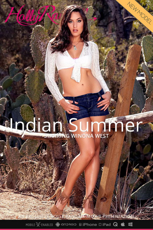 Winona West - `Indian Summer` - by Holly Randall for HOLLYRANDALL