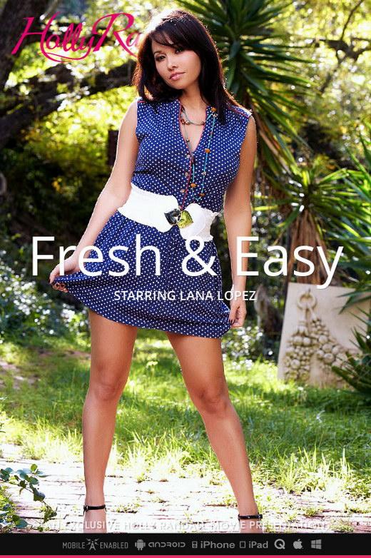 Lana Lopez - `Fresh & Easy` - by Holly Randall for HOLLYRANDALL