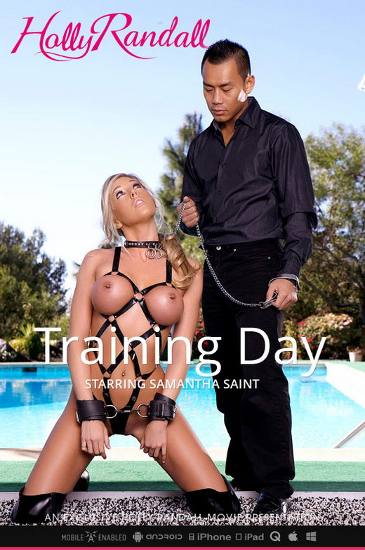 Samantha Saint - `Training Day` - by Holly Randall for HOLLYRANDALL