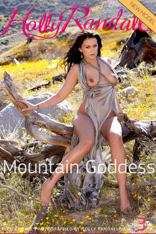 Alexis Grace - `Mountain Goddess` - by Holly Randall for HOLLYRANDALL
