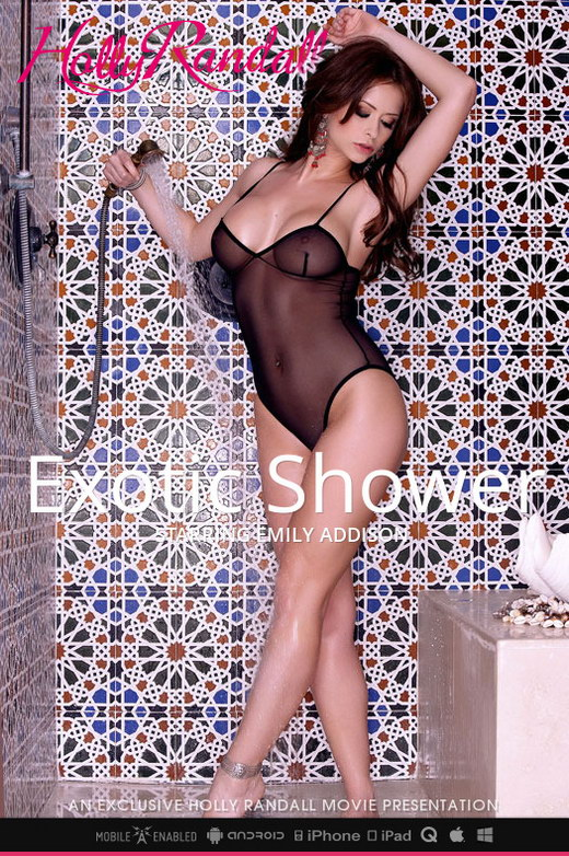 Emily Addison - `Exotic Shower` - by Holly Randall for HOLLYRANDALL