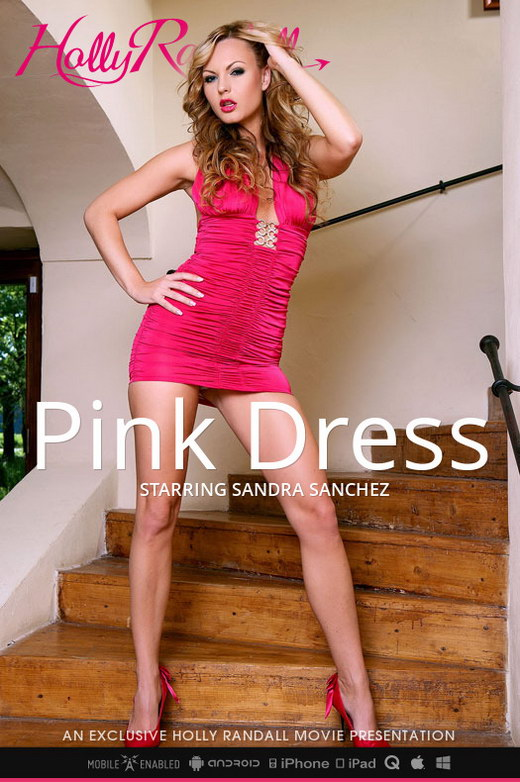 Sandra Sanchez - `Pink Dress` - by Holly Randall for HOLLYRANDALL