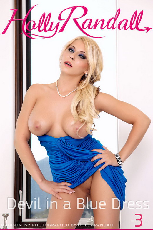 Madison Ivy - `Devil in a Blue Dress` - by Holly Randall for HOLLYRANDALL
