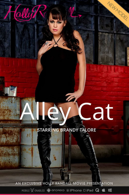 Brandy Talore - `Alley Cat` - by Holly Randall for HOLLYRANDALL
