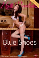 Jenni Lee in Blue Shoes gallery from HOLLYRANDALL by Holly Randall