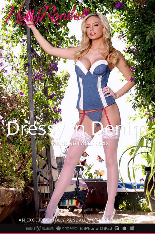 Lacey Foxx - `Dressy in Denim` - by Holly Randall for HOLLYRANDALL