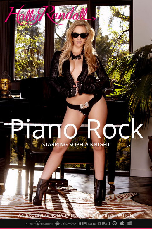 Sophia Knight - `Piano Rock` - by Holly Randall for HOLLYRANDALL