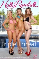 Angela Sommers & Nikki Benz & Samantha Saint in Triple Threat gallery from HOLLYRANDALL by Holly Randall