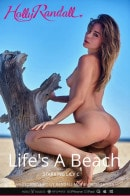 Lily C in Life's A Beach video from HOLLYRANDALL by David Merenyi