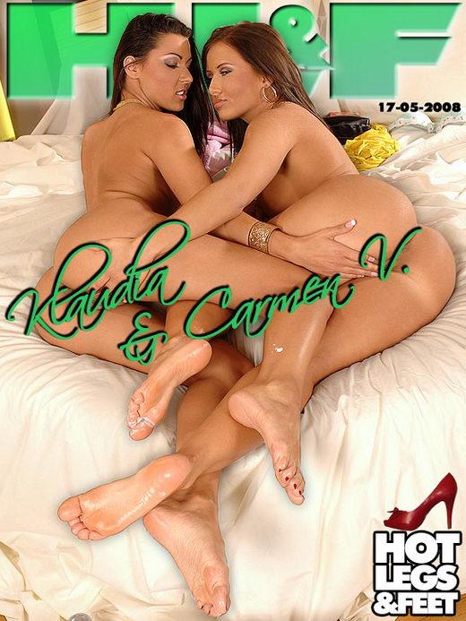 Klaudia & Carmen V - `9241h` - for HOTLEGSANDFEET