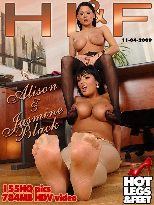 Jasmine Black & Alison - `9276h` - for HOTLEGSANDFEET