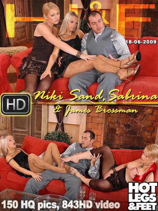 Niki Sand & Sabrina - `8186h` - for HOTLEGSANDFEET