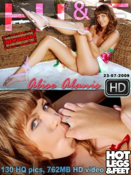 Alise Alanis  from HOTLEGSANDFEET