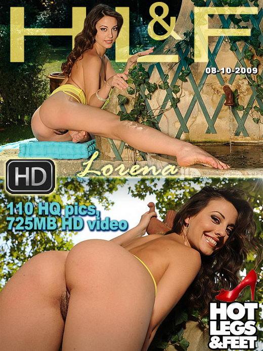 Lorena - `50558h - Outdoor Hot Pussy Fiesta!` - for HOTLEGSANDFEET