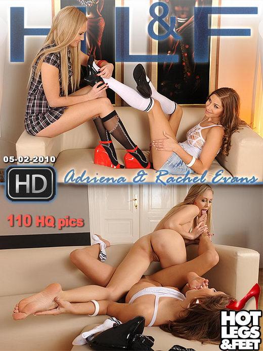 Rachel Evans & Adriana - `9343h` - for HOTLEGSANDFEET