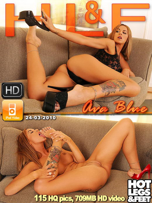 Ava Blue - `50583h` - for HOTLEGSANDFEET