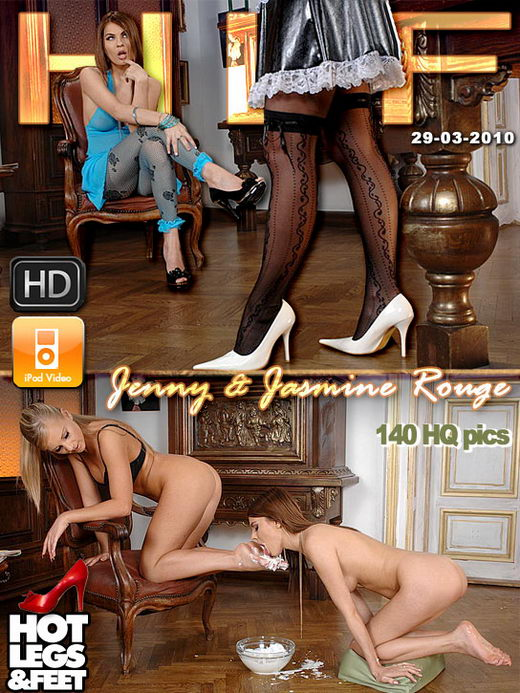 Jenny & Jasmine Rouge - `9419h` - for HOTLEGSANDFEET