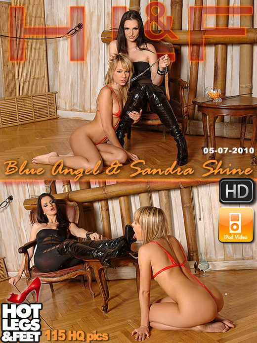 Blue Angel & Sandra Shine - `321p1hoth` - for HOTLEGSANDFEET