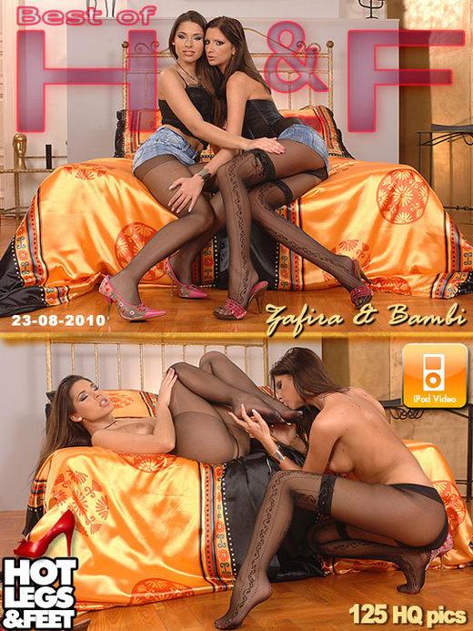 Zafira & Bambi - `9026h` - for HOTLEGSANDFEET
