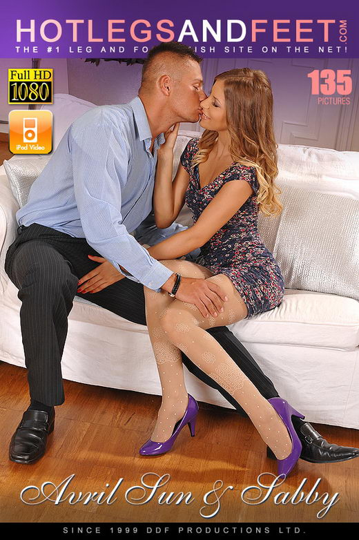 Avril Sun - `Avril's Kinky Afternoon` - for HOTLEGSANDFEET