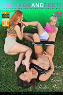 Sasha Rose & Linet & Denisa Heaven - Golfing A Toe-In-One!