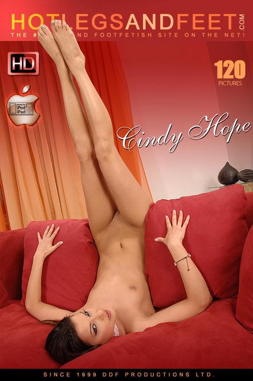 Cindy Hope - `Making Us Drool!` - for HOTLEGSANDFEET