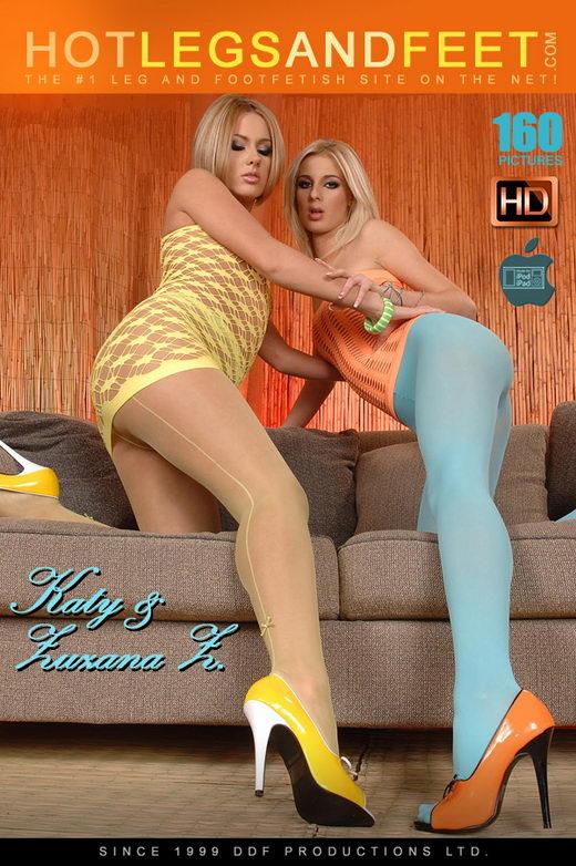 Mia Hilton & Zuzana Z - `Polishing Their Peds With Pee!` - for HOTLEGSANDFEET
