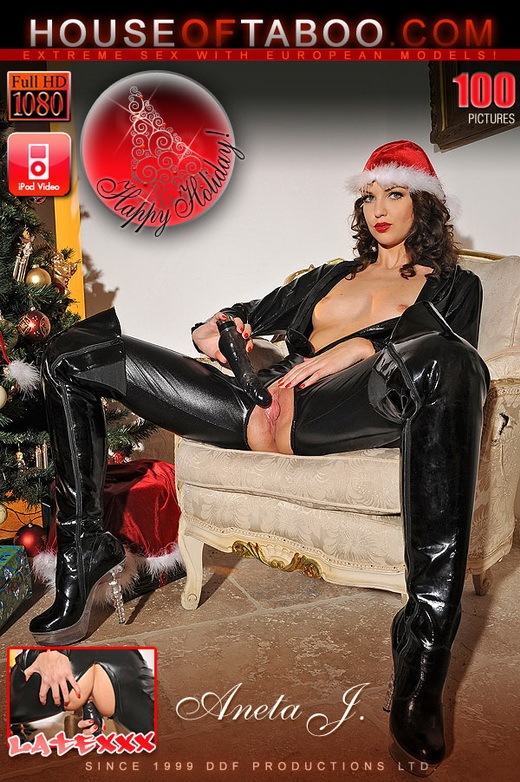 Aneta J - `Tis The Season To Be Kinky!` - for HOUSEOFTABOO