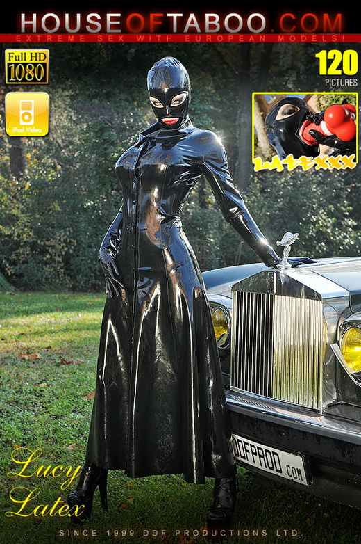 Latex Lucy - `Adventures Of A Latex Super Hero!` - for HOUSEOFTABOO