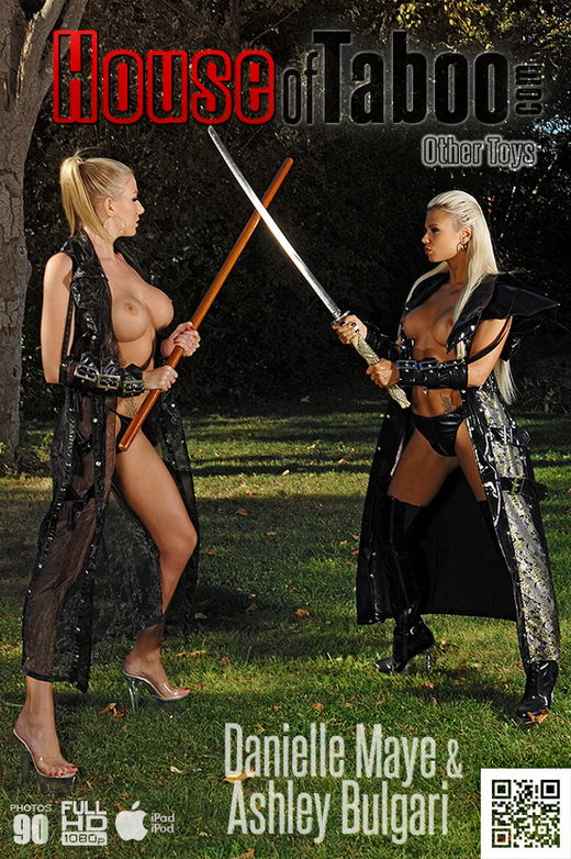 Ashley Bulgari & Danielle Maye - `Samurai Gals on High Heels!` - for HOUSEOFTABOO