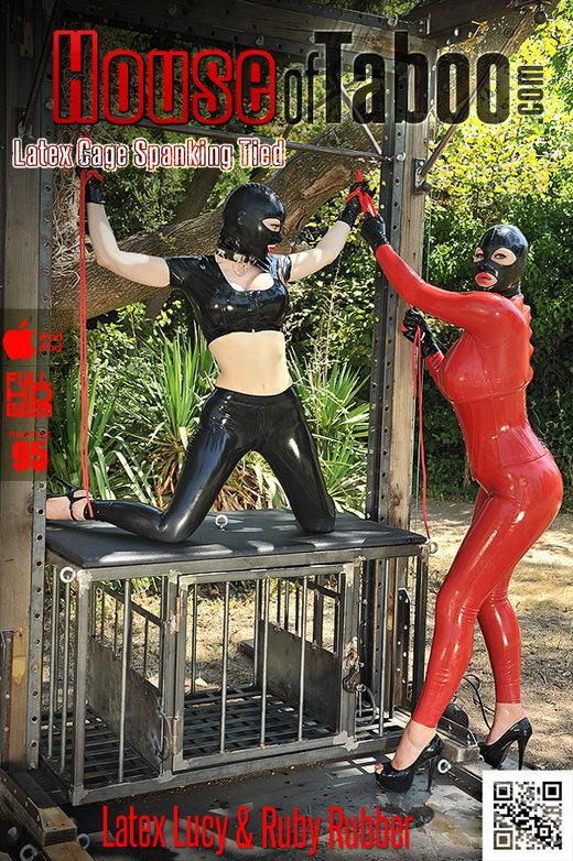 Latex Lucy & Ruby Rubber - `At the Mercy of Ruby Rubber!` - for HOUSEOFTABOO