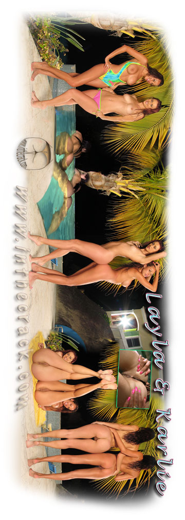 Layla Rivera & Karlie Montana - `#204 - St Thomas Virgin Islands` - for INTHECRACK
