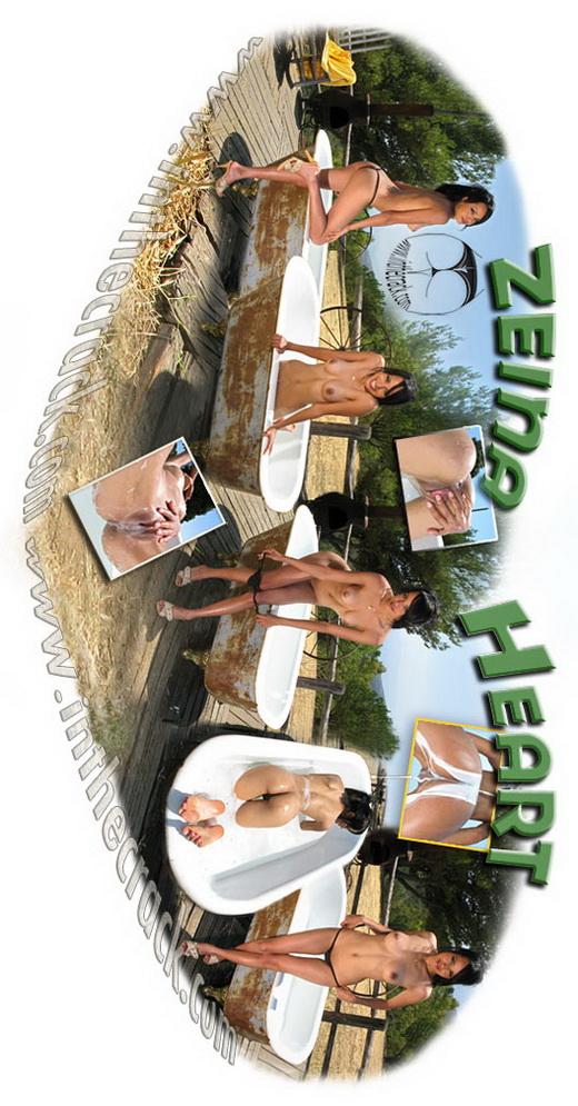 Zeina Heart - `#265 - Malibu` - for INTHECRACK