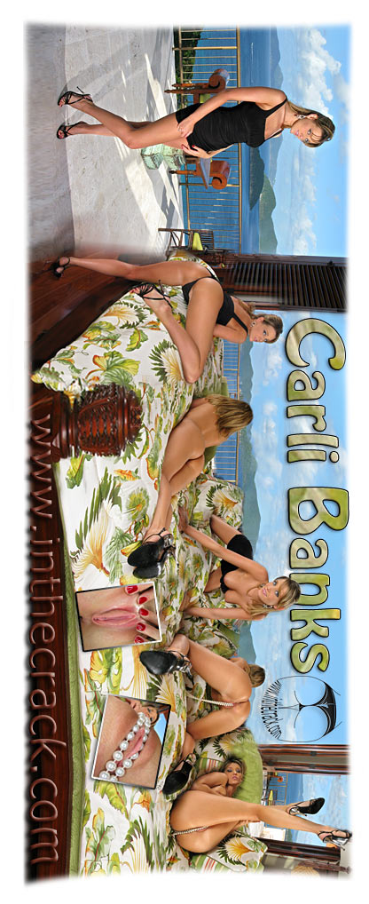 Carli Banks - `#313 - St John Virgin Islands` - for INTHECRACK