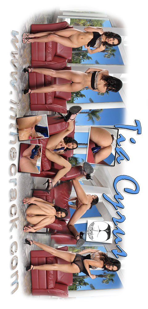 Tia Cyrus - `#445 - Malibu California` - for INTHECRACK