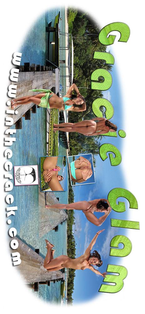 Gracie Glam - `#496 - Rangiroa French Polynesia` - for INTHECRACK