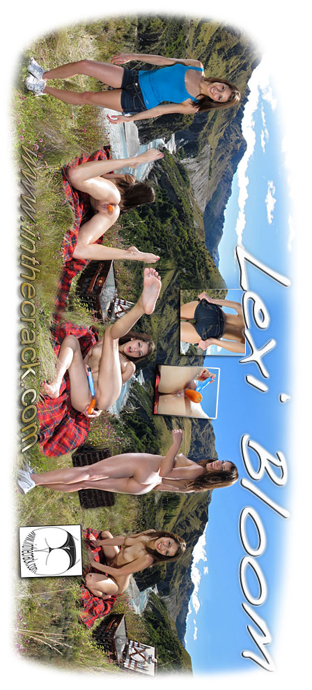 Lexi Bloom - `#546 -Skippers Canyon New Zealand` - for INTHECRACK