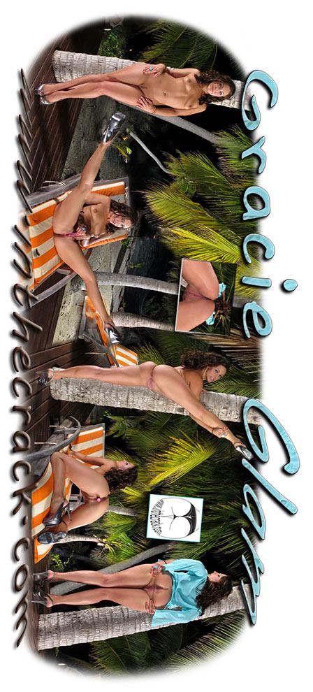 Gracie Glam - `#562 - Rangiroa French Polynesia` - for INTHECRACK