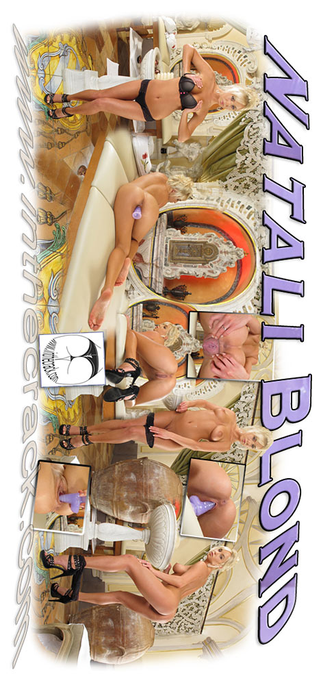 Natali Blond - `#581 - Positano Italy` - for INTHECRACK