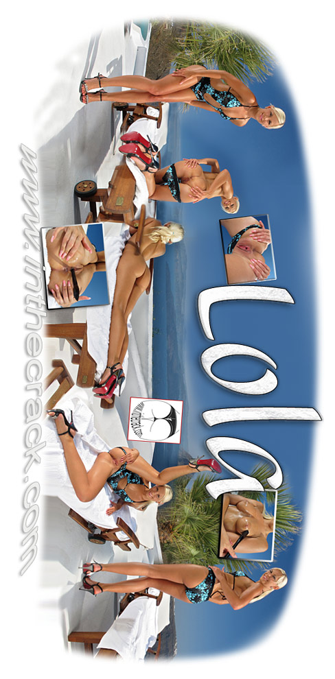 Lola - `#609 - Santorini Greece` - for INTHECRACK