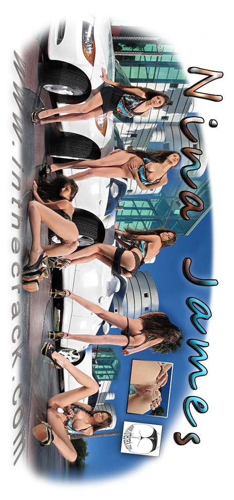 Nina James - `#659 Nina James` - for INTHECRACK