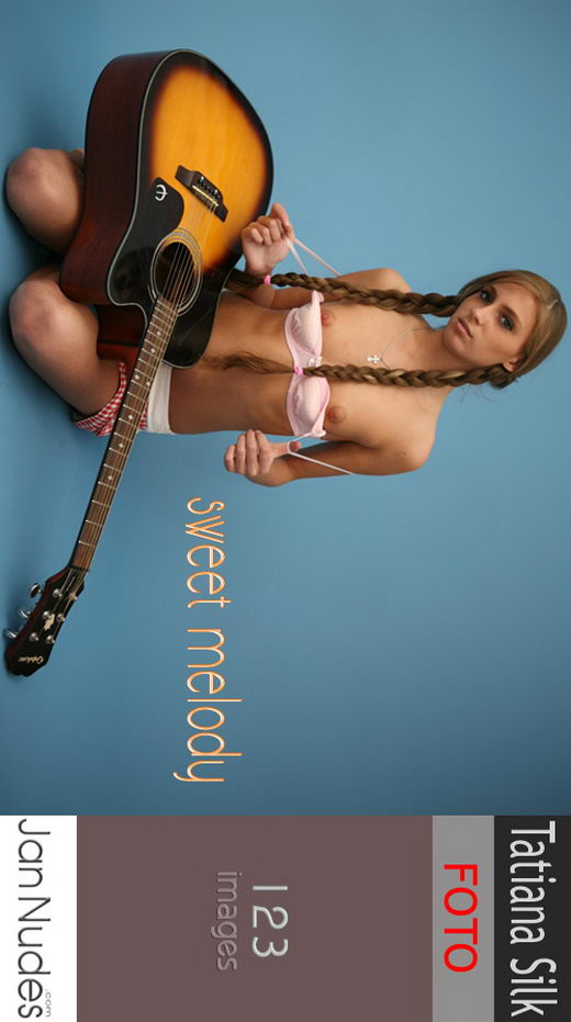 Tatiana Silk in Sweet Melody gallery from JANNUDES