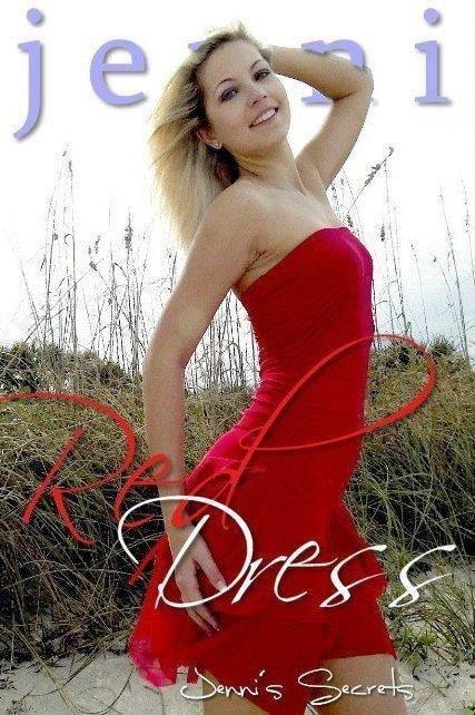 Jenni - `Red un-Dress-1` - by Reid Windle for JENNISSECRETS