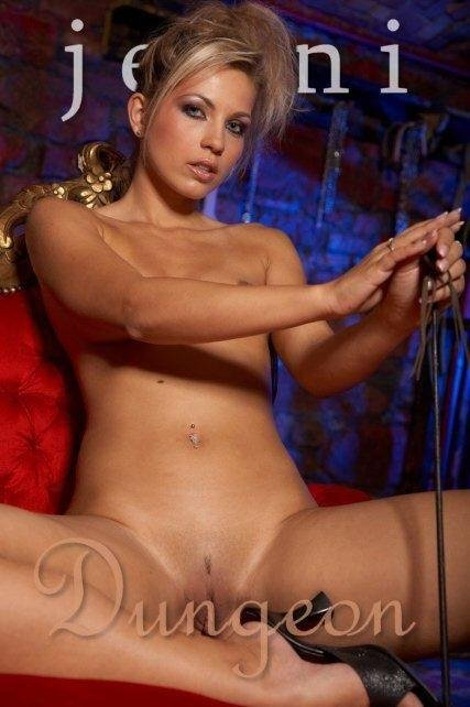 Jenni - `Dungeon-2` - by Glamshots for JENNISSECRETS