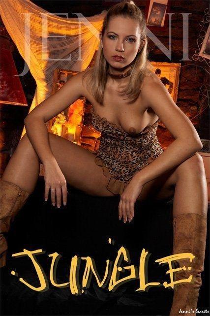 Jenni - `Jungle-1` - by Glamshots for JENNISSECRETS