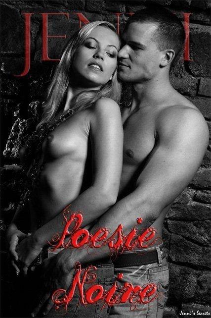 Jenni - `Poesie Noire-1` - by Glamshots for JENNISSECRETS