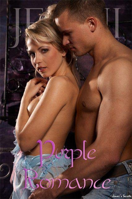 Jenni - `Purple Romance-2` - by Glamshots for JENNISSECRETS