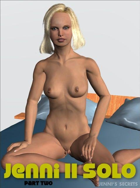 Jenni - `Jenni II Anatomy-2` - by Walter Adams for JENNISSECRETS
